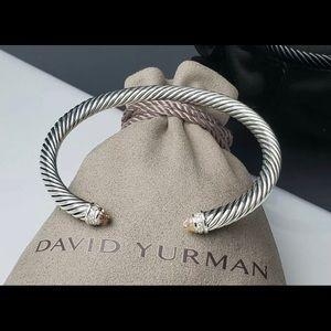 David Yurman Cable Classic Morganite Bracelet